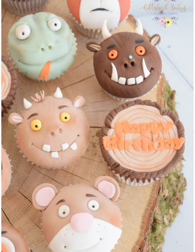 Gruffalo Themed Cupcakes