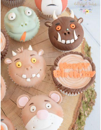Gruffalo Themed Cupcakes