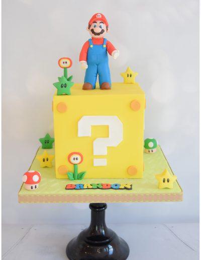 Super Mario Theme Cake