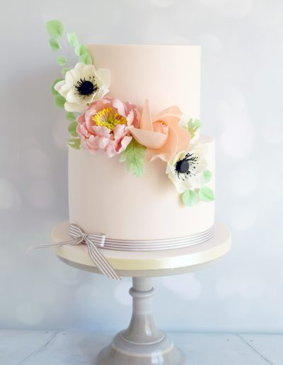 Floral Corsage Cake