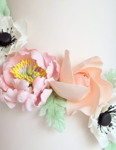 Floral corsage - Close up