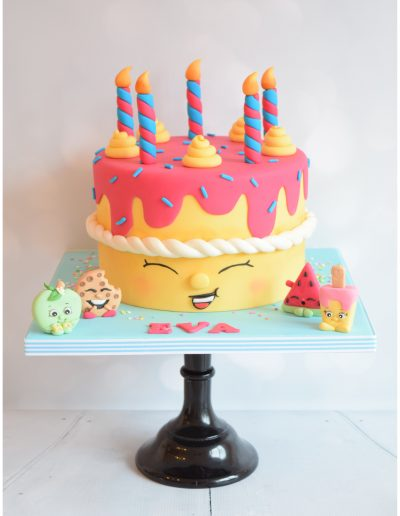 Shopkins Themed Cake