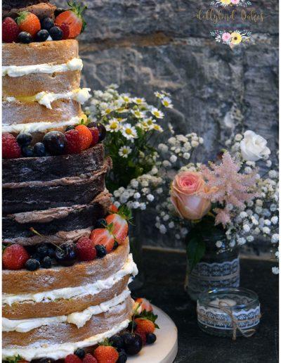 Naked cake - Rustic Buttercream
