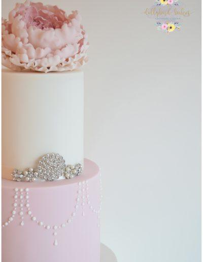 Fluffy Peony Cake