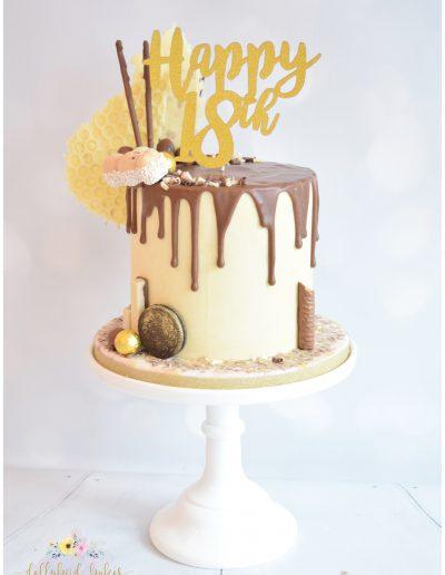 Chocolate Lovers Drip Cake