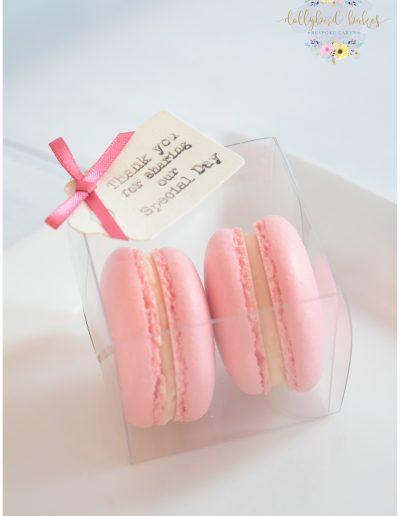 Boxed Macaron Favour Box