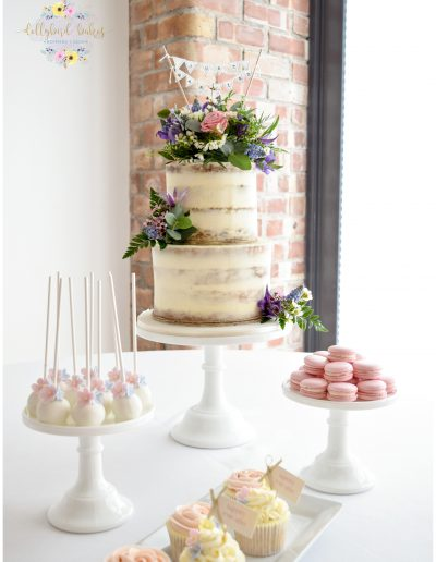 Mini Dessert Table - The Green Weddings In Cornwall