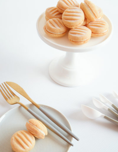 Yoyo biscuits - Wedding Favour Ideas - Dessert Table Sweet Treats