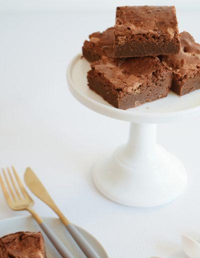 Chocolate Brownie - Dollybird Bakes - Sweet Treats - Dessert Table