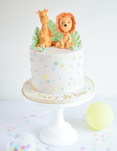 Cute character Safari Cake