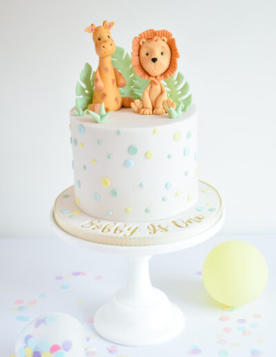 Cute character Safari Cake
