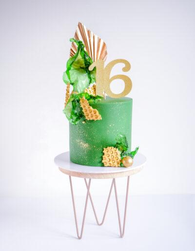 Modern Art Cake