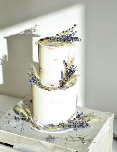 Lavender & Wheat Perfectly Petite Wedding