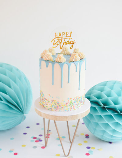 Confetti Birthday Drip Cake